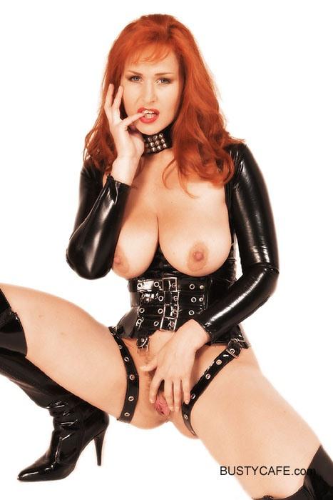 latex Sexy girls redhead